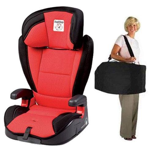 Peg Perego Viaggio Hbb 120 Car Seat - Crystal Red With Carrying Case front-967907