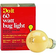 GE Private Label 97457 Do it Bug Light Bulb-60W 2PK YEL BUG BULB