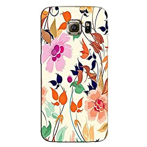SOFT FLORAL BACK COVER FOR SAMSUNG GALAXY S7 EDGE