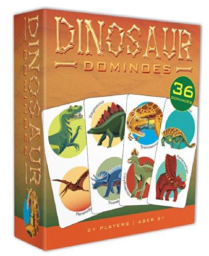 Outset Media Dinosaur Dominoes Game - 1