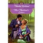 Book Review on Miss Maitland's Letters (Signet Regency Romance) by Martha Kirkland