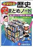中学社会/歴史まとめノート