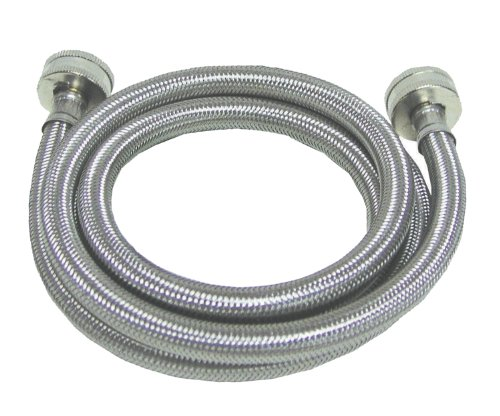 watts wts spl72 1212pb 6 foot stainless steel washing machine hose 1 pack new ebay. Black Bedroom Furniture Sets. Home Design Ideas