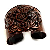 Steampunk Antique Copper Cuff Bracelet