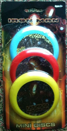 Iron Man Mini Discs (3 mini discs) - 1