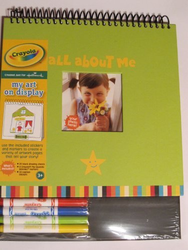 Crayola All About Me Art Book with Markers - 1