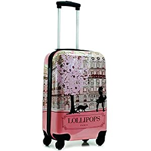 Lollipops Valise Cabine Paris 50cm Rose: Bagages