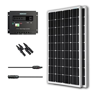 RENOGY® Solar Panel 200W Monocrystalline Bundle Kit