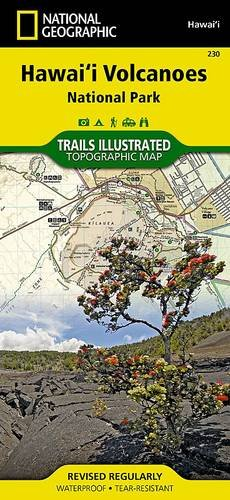 Hawaii Volcanoes National Park (National Geographic Trails Illustrated Map)