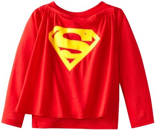 Komar Kids Boys Toddler Superman Costume Sleep Set With Cape, Red, 2T Color: Red Size: 2T Toy, Kids, Play, Children front-763365