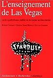 L'enseignement de Las Vegas, ou, Le symbolisme oublié de la forme architecturale (French Edition) (2870090951) by Venturi, Robert
