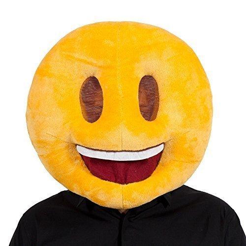 Emoji Sorriso Maschera divertente per Masquerade Fancy Dress