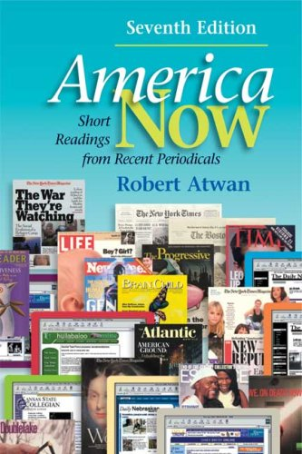 America Now: Short Readings from Recent Periodicals (America Now Short Reading compare prices)