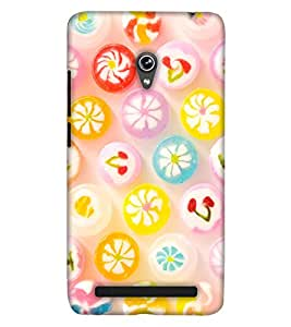 Print Haat Back Case for Zenfone 6 (Multi-Color)