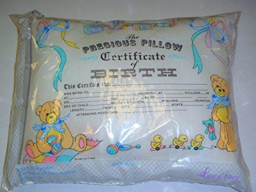 Keepsake Baby Birth Pillow – Bear