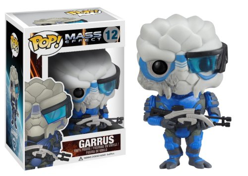 Funko POP Games Mass Effect Garrus Vinyl Figure - 1