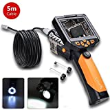 5m/16.5ft Digital Endoscope,CrazyFire® NTS200 Portable Handheld Borescope Inspection Camera with 3.5 Inch LCD 8.2mm Diameter 1W Cree LED Flashlight