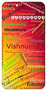 Vishnumaya (Goddess parvati) Name & Sign Printed All over customize & Personalized!! Protective back cover for your Smart Phone : Moto X-STYLE
