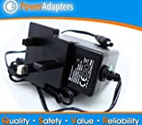12v Mains 2a Ac-DC UK replacement power supply adapter for Meos DVD121B DVD p...