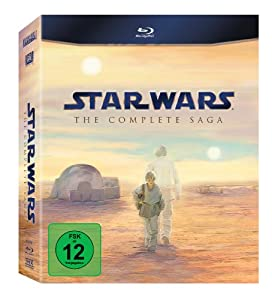 Star Wars: The Complete Saga I-VI [Blu-ray]