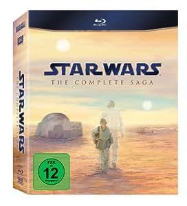 Star Wars: The Complete Saga I-VI [Blu-ray]