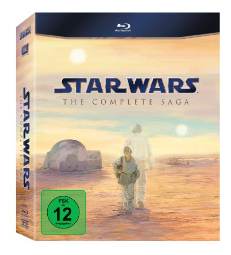 Star Wars - Complete Saga [Blu-ray]