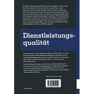 Dienstleistungsqualität: Konzepte _ Methoden _ Erfahrungen