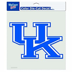 Buy NCAA Kentucky Wildcats 8-by-8 Inch Diecut Colored Decal by WinCraft