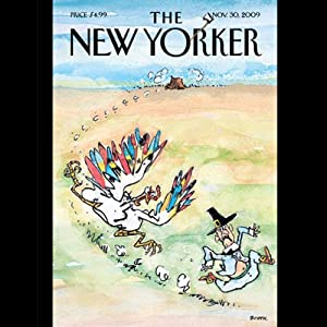 The New Yorker, November 30, 2009 (Roger Angell, Dom Delillo, Mike Sacks) | [The New Yorker]