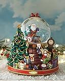 Christopher Radko Splendent Santa Snow Globe