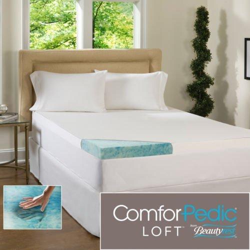 Beautyrest 3-Inch Gel Memory Foam Mattress Topper & Waterproof Cover (Twin) front-1015246