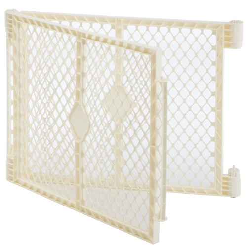 North-States-Superyard-Ultimate-Playard-2-Panel-Extension-Ivory