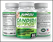 Candida Cleanse - Candida Support - 100% Money Back Guarantee - Extra Strength Yeast Infection Treatment - With Herbs, Antifungals, Enzymes, Probiotics - Kills Candida, Prevents Reoccurrence (60 Ct.)