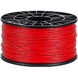 NuNus 3D Printer ABS Filament 1,75mm 1KG Spool (red) for MakerBot RepRap MakerGear Ultimaker ...