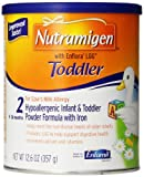 Nutramigen with Enflora LGG Toddler 12.6 Ounce Powder Can, For Infant and Toddlers 9-36 Months With Cows Milk Allergy