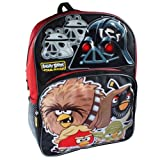 Star Wars Angry Birds School Backpack with Darth Vader Motion Sensored Light up Eyes