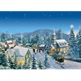 Gibsons Holiday Traditions Jigsaw Puzzle by Thomas Kinkade 1000 Pieces