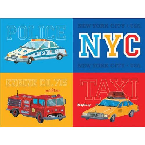 FAO Schwarz NYC Vehicles Puzzle