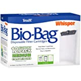 Tetra 26160 Whisper Bio-Bag Cartridge, Unassembled, Medium, 12-Pack