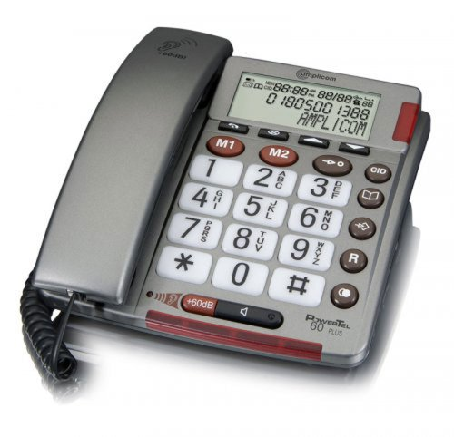 Amplicom Powertel 60 Plus Corded Phone images