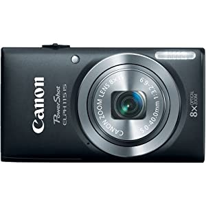 Canon PowerShot Elph 115 16MP Digital Camera with 2.7-Inch LCD (Black)
