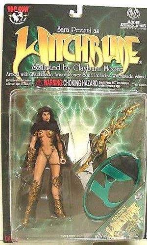 Witchblade Series 1 Variant Golden Witchblade 6¡± Action Figure