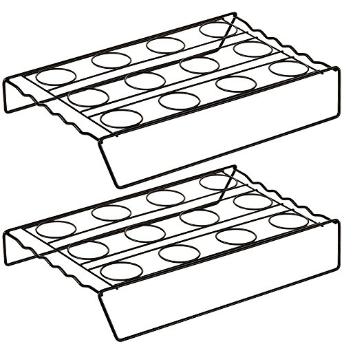 Cupcake Cone Baking Rack: Dishwasher Safe Non-Stick Cooking Unit (Set of 2) [Kitchen] (Cone Cupcakes compare prices)