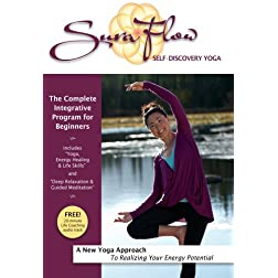 Sura Flow Yoga: Complete Beginners Program ''Energy Healing, Yoga & Meditation''