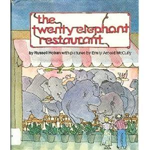 Twenty Elephant Restaurant (Pocket Bears) Russell Hoban and Quentin Blake