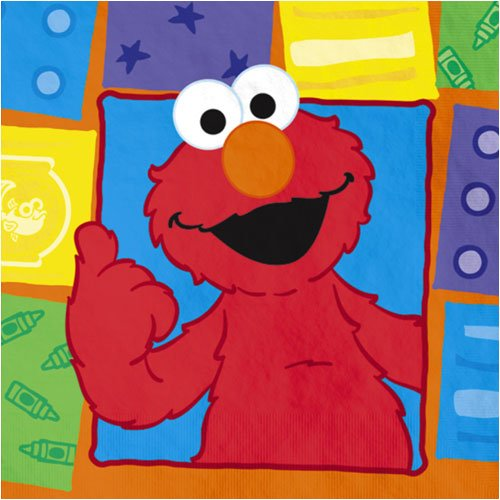 Elmo Loves You Luncheon Napkins - 16 Count - 1