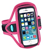 Tunebelt AB87 Sport Armband for Apple iPhone 5 5S 5C - Pink/Black