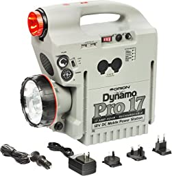 Orion 02308 Dynamo Pro 17Ah Rechargeable 12V DC Power Station (Gray)