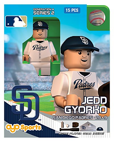 Jedd Gyorko OYO MLB San Diego Padres G4 Series 2 Mini Figure Limited Edition