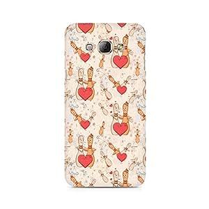 Ebby Love Pins Premium Printed Case For Samsung A8